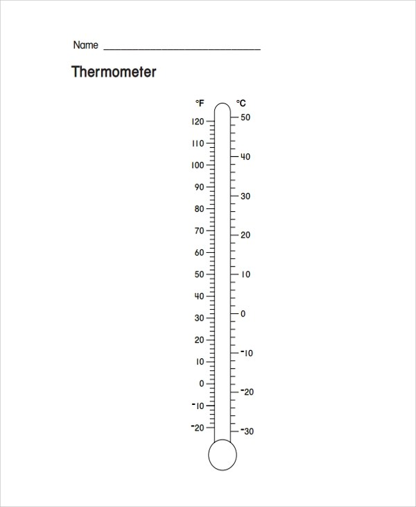 Sample Thermometer Template - 9+ Free Documents Download in PDF, Word