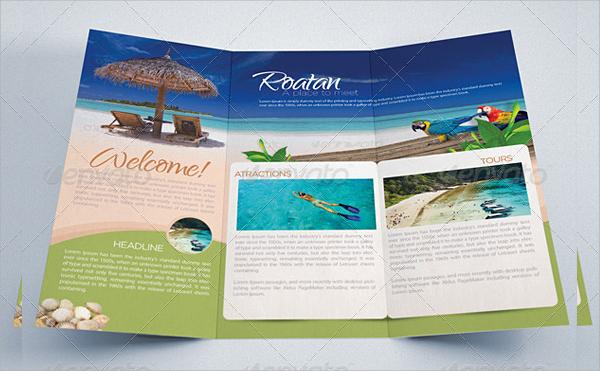 Tourism Brochure Template Tourism Brochure Templates African Safari