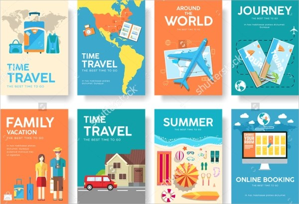 20+ Tourism Brochure Templates Sample Templates - Vacation Brochure Template