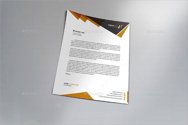 16+ PSD Letterhead Templates Sample Templates - psd letterhead template