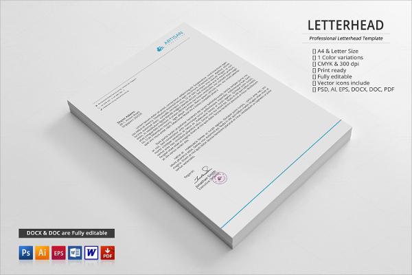 15+ Letterhead Templates - PSD Format Download - letterheads templates free download