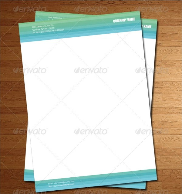 16+ PSD Letterhead Templates Sample Templates