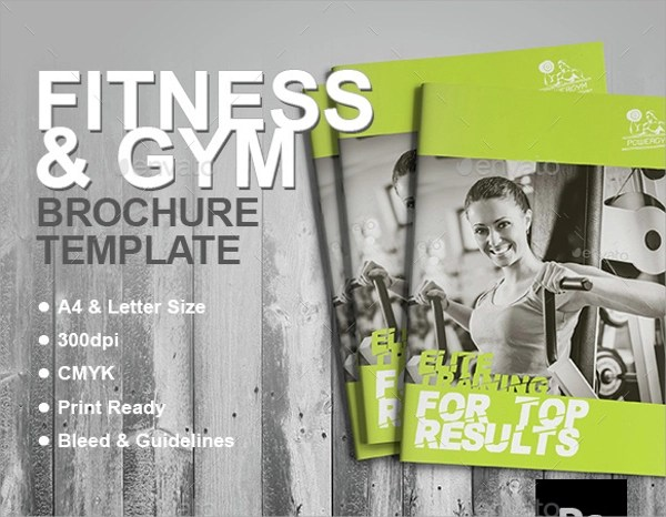 20+ Best Fitness Brochure Templates Sample Templates - Fitness Brochure Template