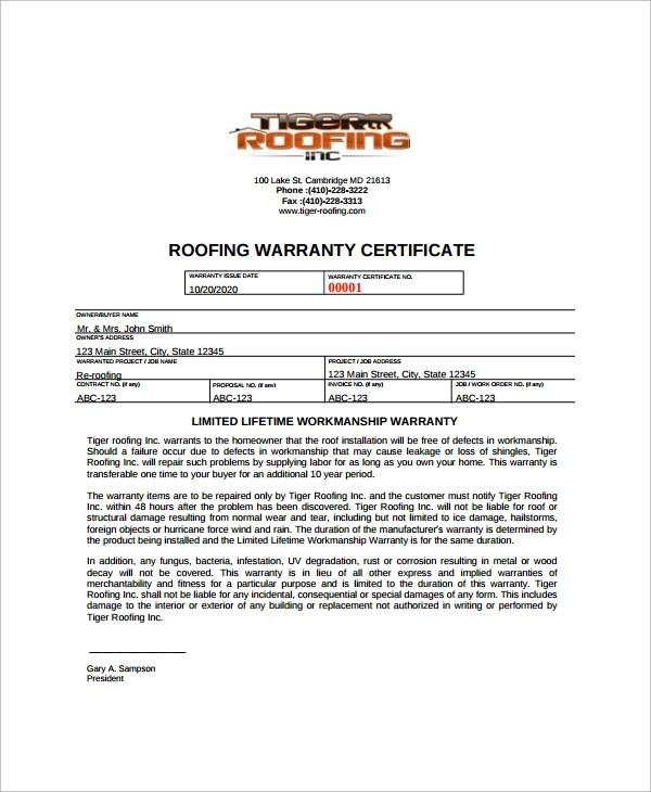 8+ Roofing Invoice Templates Sample Templates - free blank estimate form