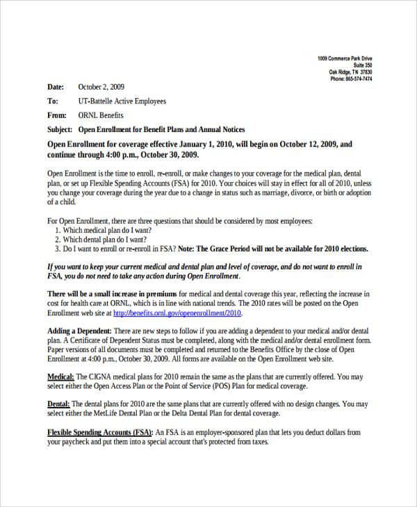 10+ Announcement Letter Templates Sample Templates