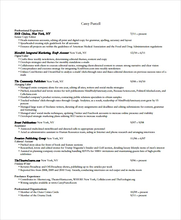 Hiring Someone To Write Your Blog The If, The Why, and The How - freelance writer resume sample