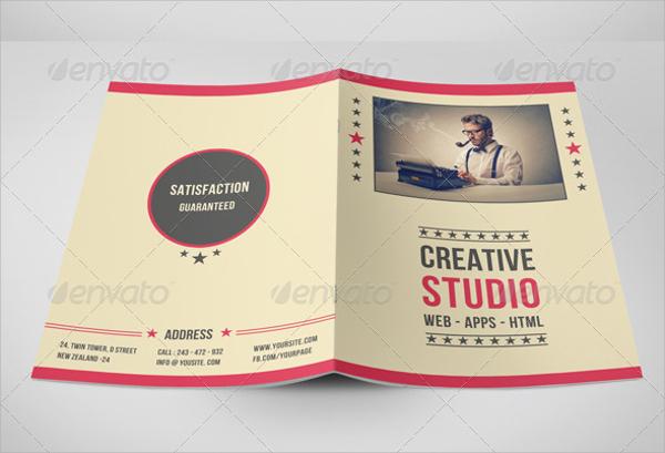 19+ Retro Brochure Templates Sample Templates - retro brochure template