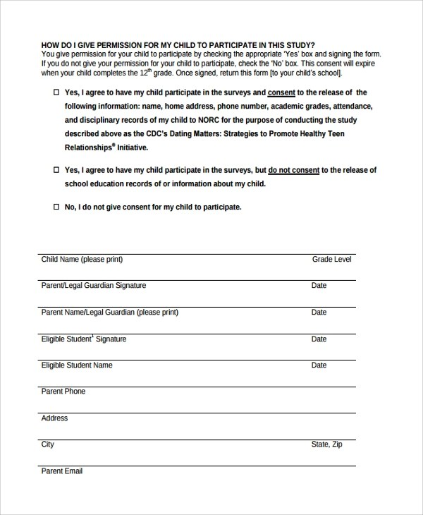 Survey Consent FormSurvey Consent Form Template Anonymous Survey - sample print release form example