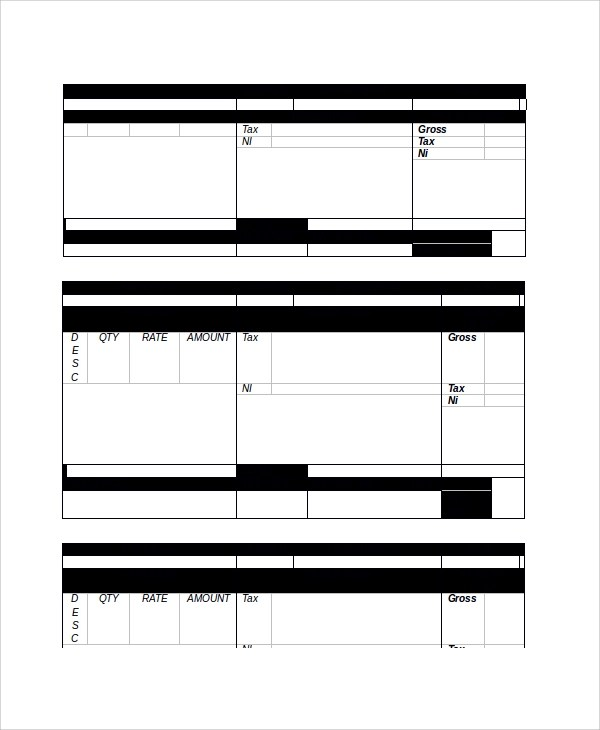 9+ Payslip Templates - PDF, Word