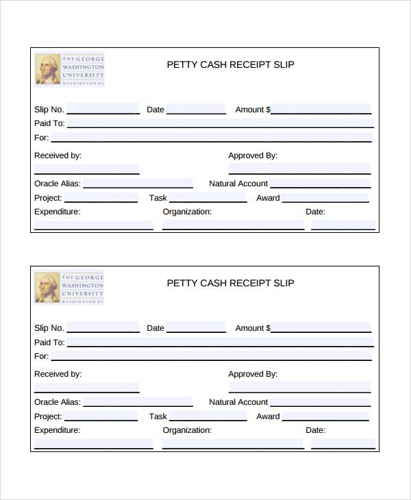 refund receipt template