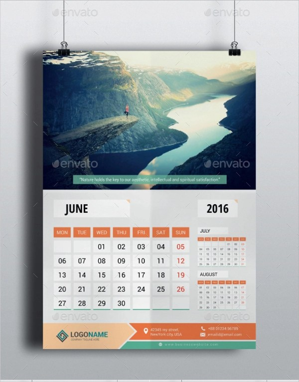 Sample Office Calendar Template -9+ Download Documents in PSD - sample quarterly calendar templates