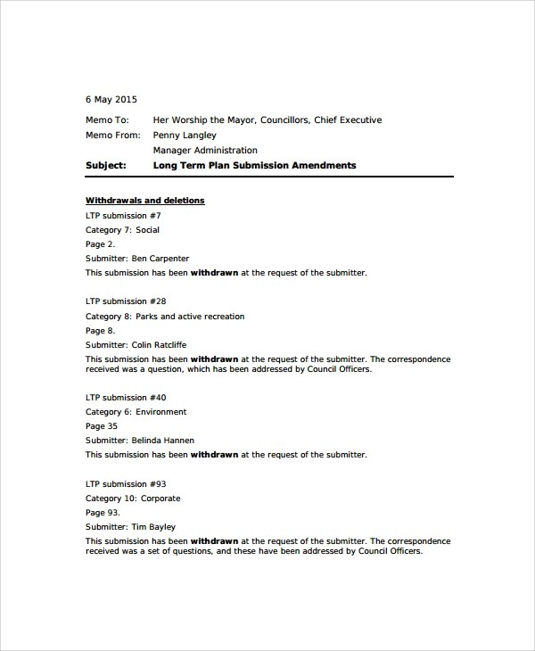 Standard Memo Template | Resume Tips For Truck Drivers Zone