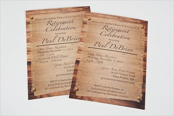 Sample Reception Invitation Template - 6+ Free Documents Download in PSD