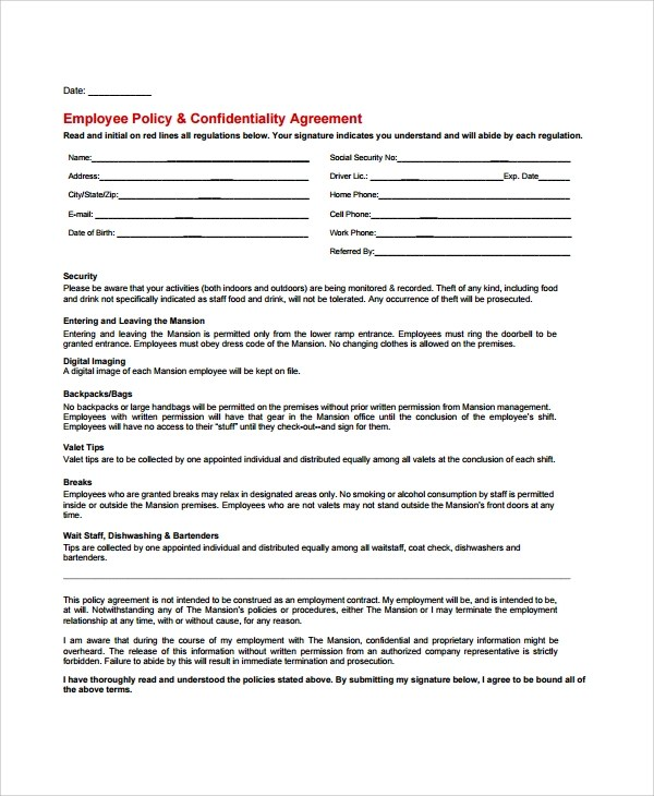 Business Confidentiality Agreement adefisjuventudinternacional