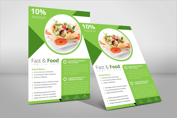 21+ Food Flyer Templates Sample Templates