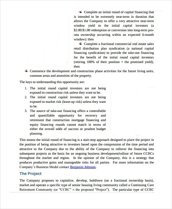 Sample Real Estate Proposal Template - 9+ Free Documents Download in - funding proposal template