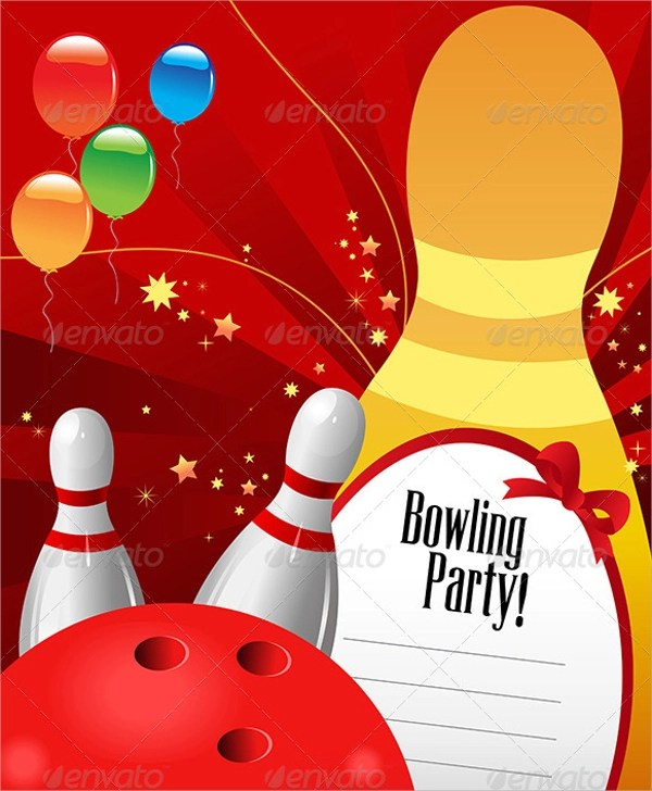 10+ Bowling Invitation Templates Sample Templates - bowling invitation template