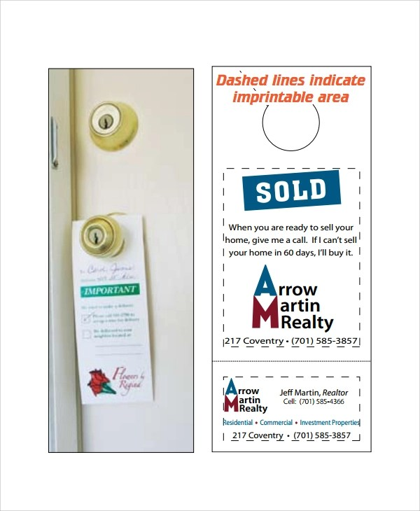Retail And Consumer Door Hanger Template Choose From Of Door - retail and consumer door hanger template