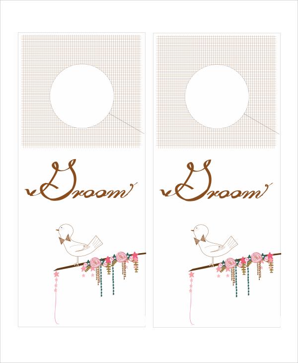7+ Promotional Door Hanger Templates Sample Templates