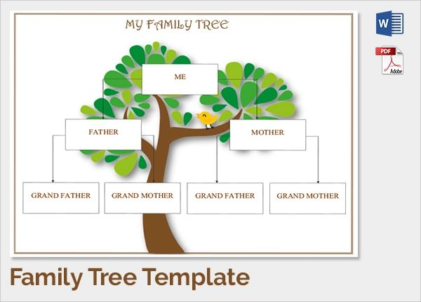 fill in family tree chart