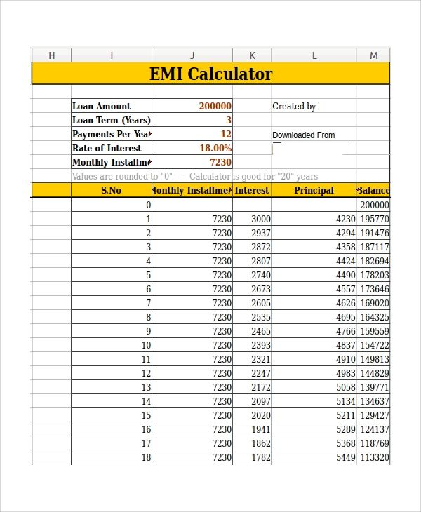 monthly principal and interest payment calculator