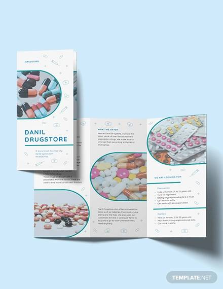 8+ Drug Brochures - PSD, Vector EPS