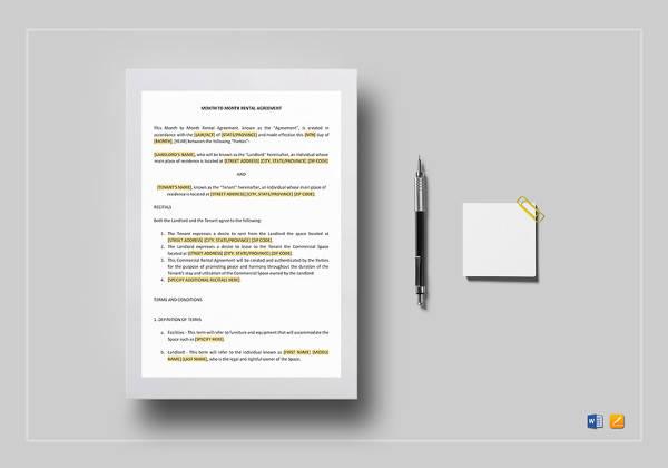 11+ Trailer Rental Agreement Templates - PDF