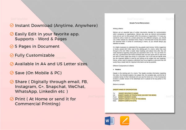 29+ Sample Memo Templates Sample Templates - sample email memo template