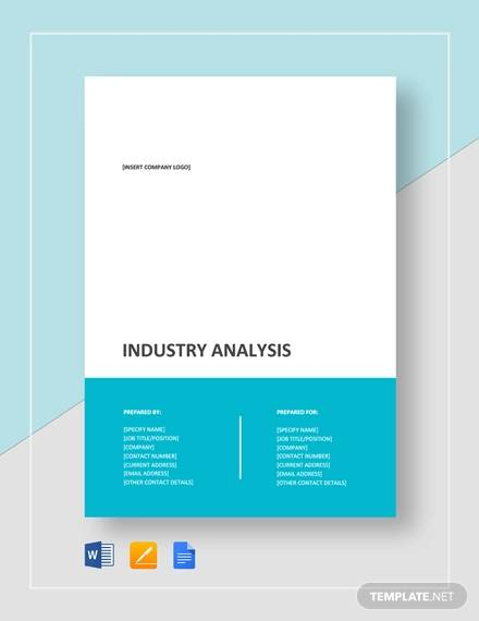 Industry Analysis Sample - 12+ Documents in PDF