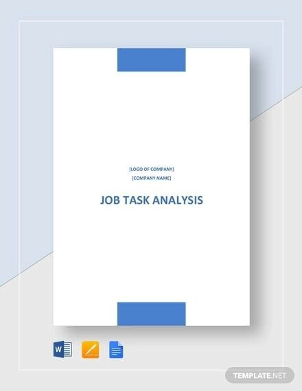 13+ Task Analysis Samples - Free PDF, Word Format Download