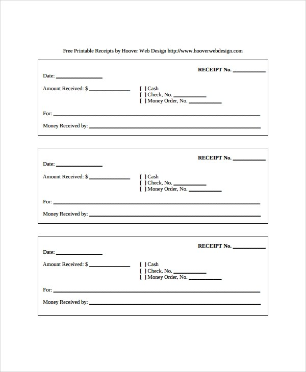 free receipts templates - 28 images - petty cash receipt template - free reciepts