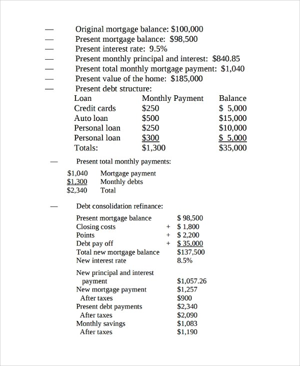 Sample Mortgage Amortization Calculator Template - 6+ Free Documents