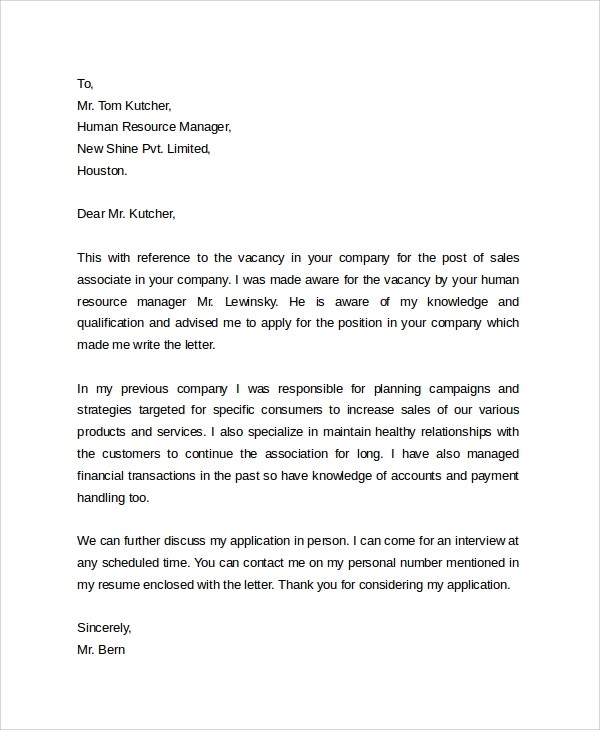 30+ Cover Letter Example Templates Sample Templates - Writing A Cover Letter Examples