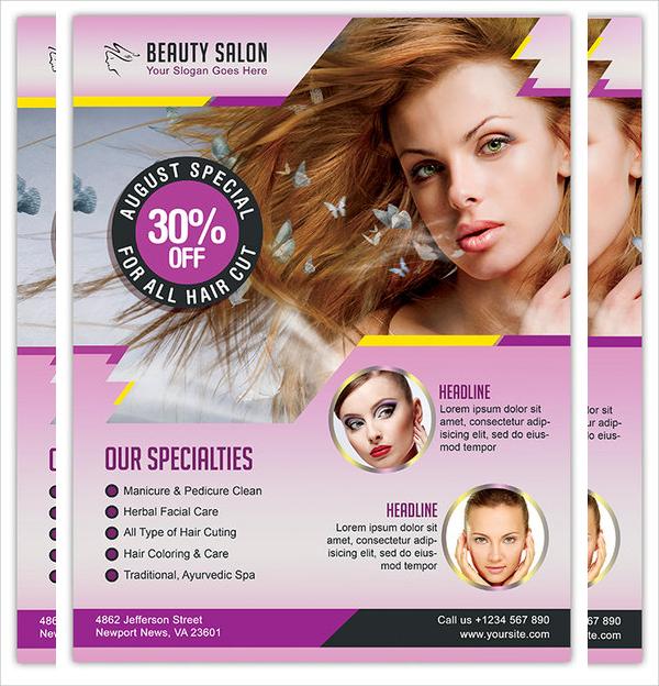 21+ Hair Salon Flyer Templates- AI, PSD, Word, EPS
