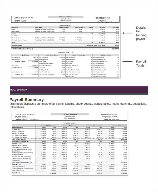 sample payroll reports - Militarybralicious - payroll report template