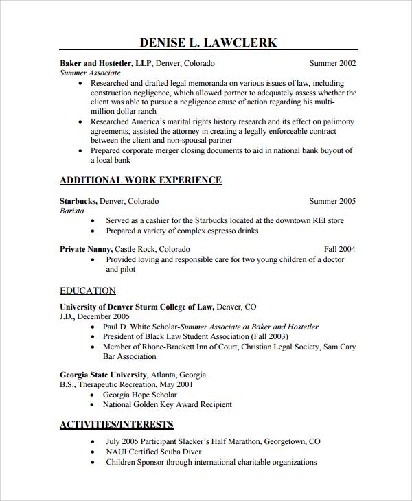 sample nanny resume objective