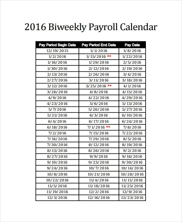... Sample Payroll Calendar Template   9+ Free Documents Download In   Excel  Templates For Payroll ...  Excel Templates For Payroll