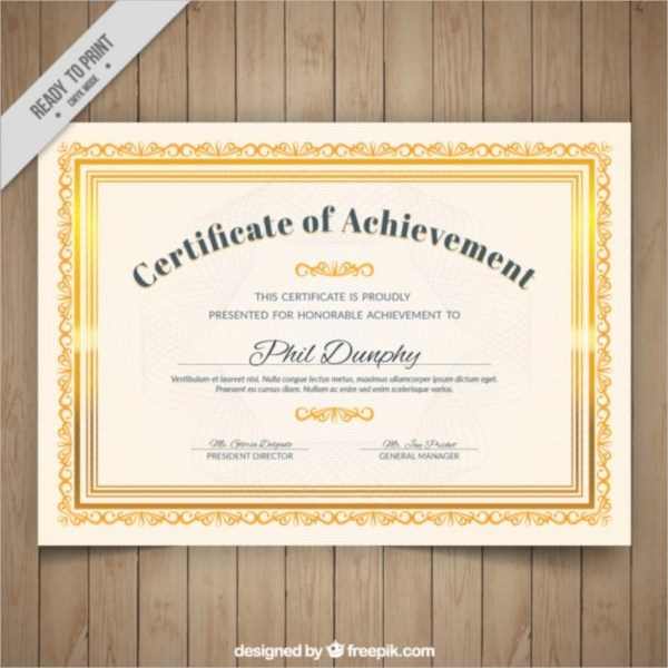 certificate photoshop template - Funfpandroid - certificate designs free
