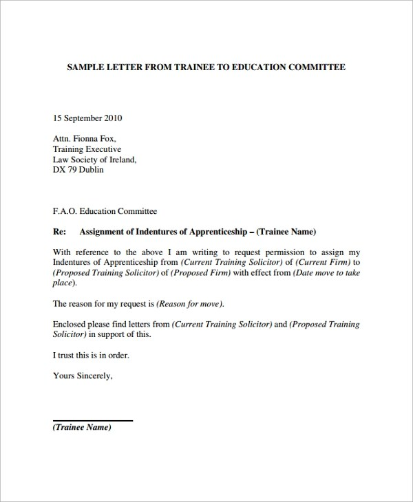 letter of assignment template - Selol-ink - Assignment Letter