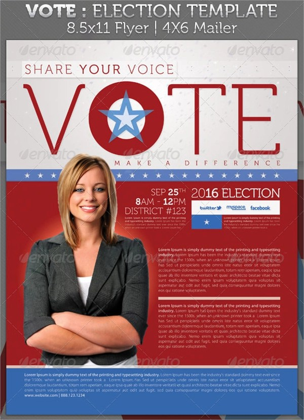 10+ Political Brochures Sample Templates - political brochure
