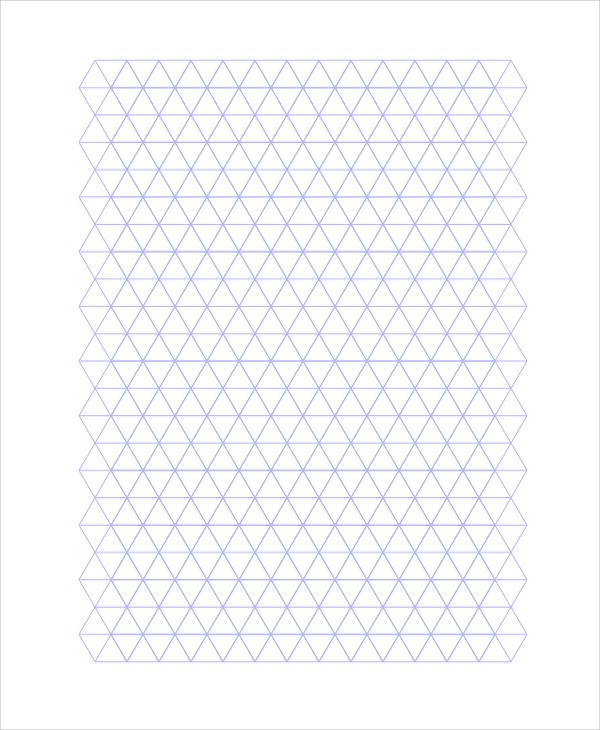 triangle graph paper printable - Josemulinohouse