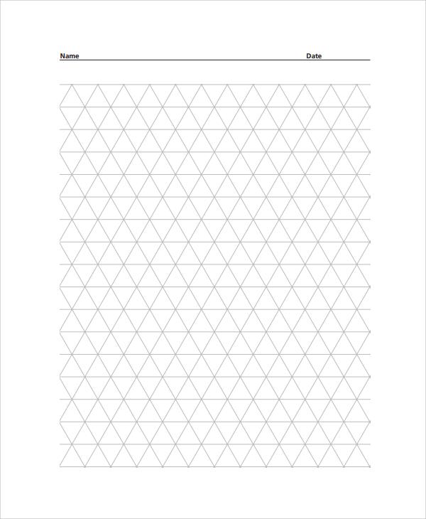 Printable Graph Paper 1 Inch Graph Paper Template Sample Digital - sample graph paper
