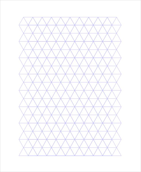 10+ Triangular Graph Paper Templates Sample Templates