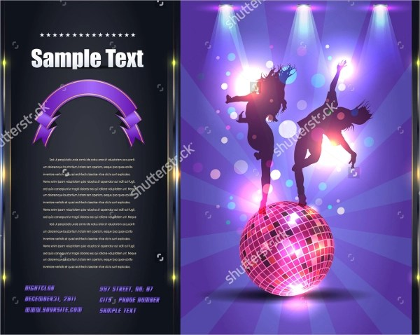 9+ Party Brochure Templates - PSD, EPS - party brochure template