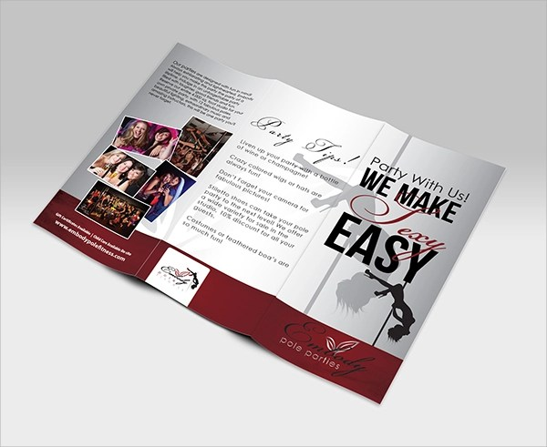 9+ Party Brochure Templates Sample Templates