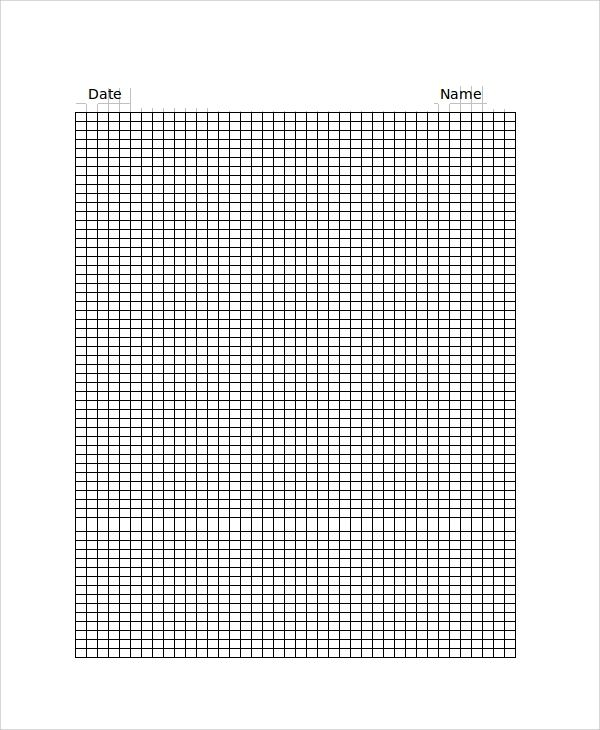 create graph paper in excel