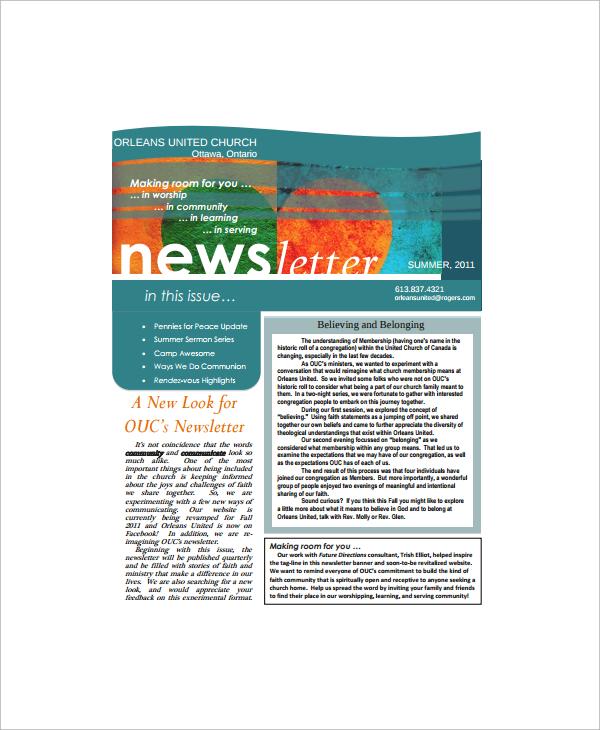 Department Newsletter Templates Costumepartyrun - Department newsletter templates