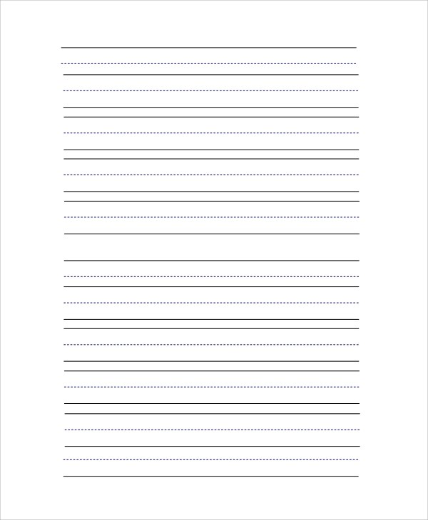 Sample Lined Paper - 19+ Documents in PDF, Word