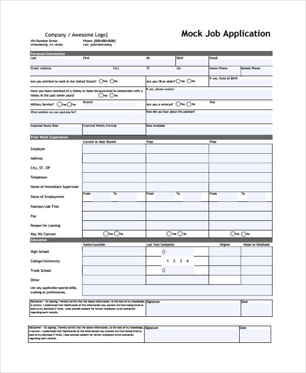 target application form - Solidgraphikworks