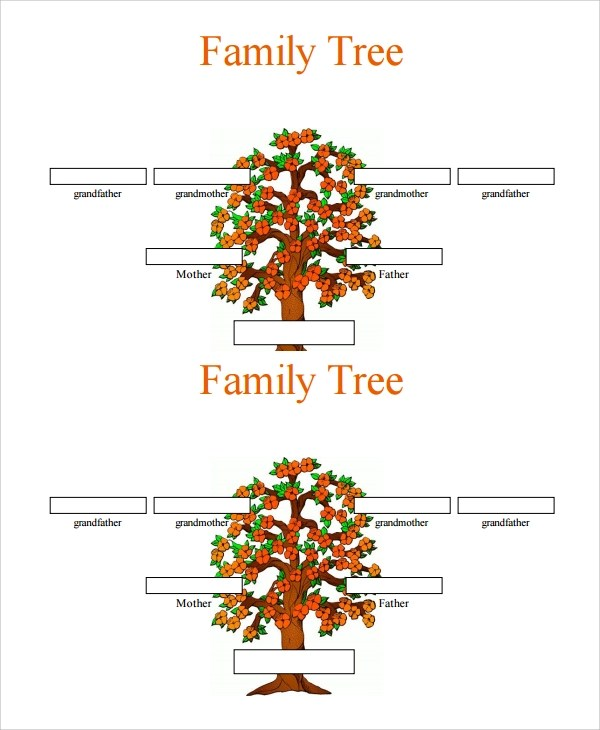 3 generation family tree template word choice image template